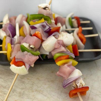 Pork Kebabs (6 Skewers)
