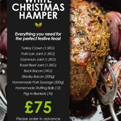 White Christmas Meat Hamper